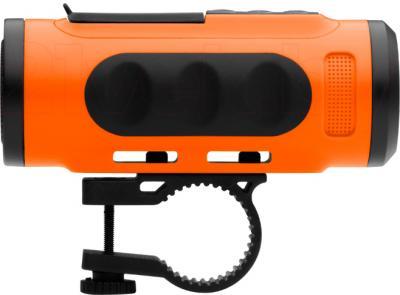MP3-плеер TeXet Drum (оранжевый) - велосипедный крепеж