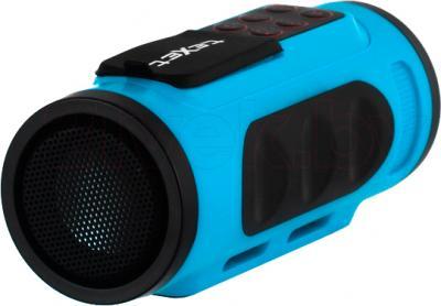 MP3-плеер TeXet Drum (синий) - общий вид