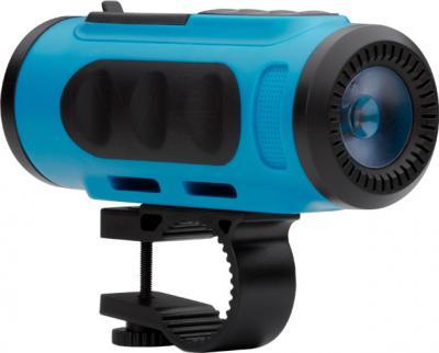 MP3-плеер TeXet Drum (синий) - велосипедный крепеж