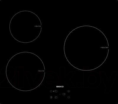 Индукционная варочная панель Beko HII63400AT - общий вид