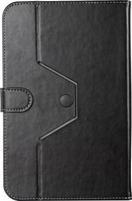 """Чехол для планшета Prestigio Universal rotating Tablet case for 8"""" PTCL0208BK (черный) - вид сзади"""
