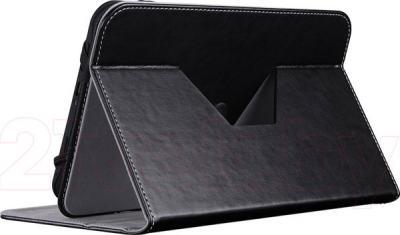 """Чехол для планшета Prestigio Universal rotating Tablet case for 8"""" PTCL0208BK (черный) - в разложенном виде"""