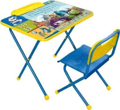 Стол+стул Ника Д1УМ Университет Монстров - общий вид