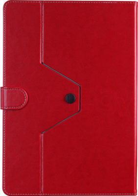 """Чехол для планшета Prestigio Universal rotating Tablet case for 8"""" PTCL0208RD (красный) - вид сзади"""