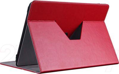 """Чехол для планшета Prestigio Universal rotating Tablet case for 8"""" PTCL0208RD (красный) - в расзложенном виде"""