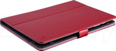 "Чехол для планшета Prestigio Universal rotating Tablet case for 8"" PTCL0208RD (красный) - вид лежа"