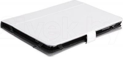 "Чехол для планшета Prestigio Universal rotating Tablet case for 8"" PTCL0208WH (черный) - вид лежа"