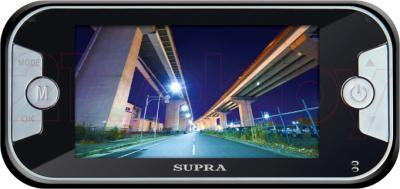 Автомобильный видеорегистратор Supra SCR-820DC - дисплей