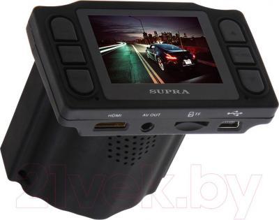 Автомобильный видеорегистратор Supra SCR-90R - дисплей