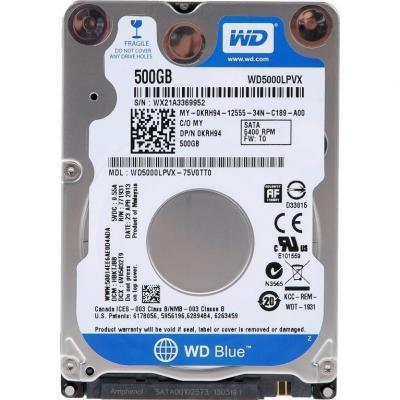 Жесткий диск Western Digital Blue 500GB (WD5000LPVX) - общий вид