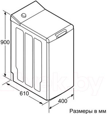 Стиральная машина Bosch WOT24455OE - схема