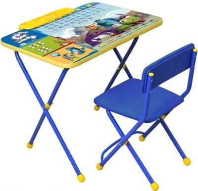 Стол+стул Ника Д2УМ Университет Монстров - общий вид