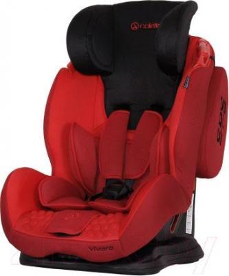 Автокресло Coletto Vivaro Isofix (Red) - с поднятым подголовником