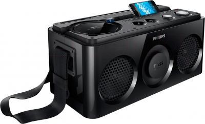 Магнитола Philips AZ1/12 - беспроводное воспроизведение музыки через Bluetooth