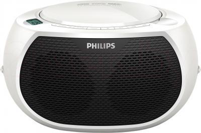 Магнитола Philips AZ380W/12 - общий вид