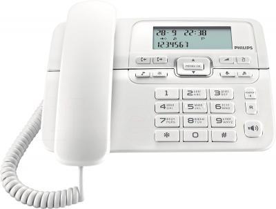 Проводной телефон Philips CRD200W/51 - общий вид