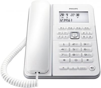 Проводной телефон Philips CRD500W/51 - общий вид