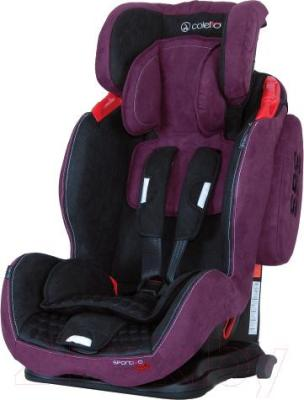 Автокресло Coletto Sportivo Isofix (Purple) - с поднятым подголовником