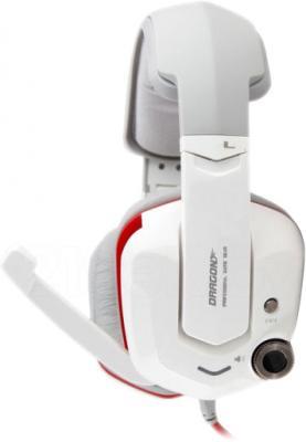 Наушники-гарнитура Qcyber Dragon GH-9000 (белый) - вид сбоку