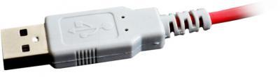 Наушники-гарнитура Qcyber Dragon GH-9000 (белый) - USB
