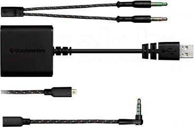 Наушники SteelSeries 9H - комплект кабелей
