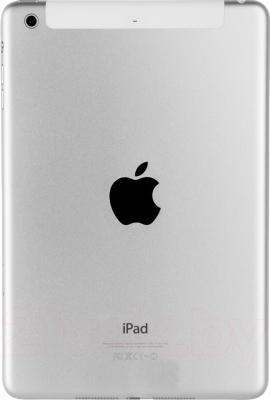 Планшет Apple iPad mini 128GB 4G Silver (ME840TU/A) - вид сзади