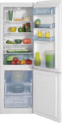 Холодильник с морозильником Beko CS328020 - в открытом виде