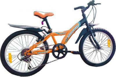 Велосипед Eurobike Spider (20, Orange) - общий вид