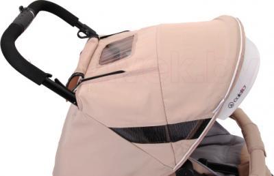 Детская прогулочная коляска Coletto Aveo Comfort (Beige) - козырек