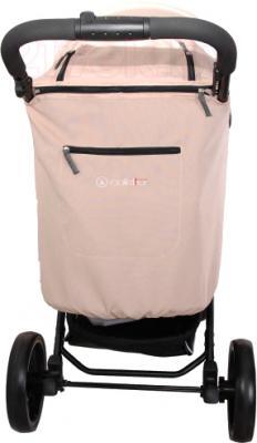 Детская прогулочная коляска Coletto Aveo Comfort (Beige) - вид сзади