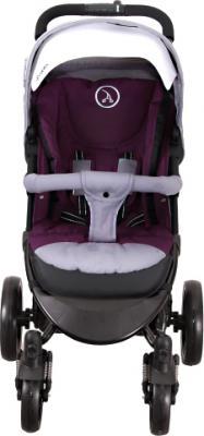Детская прогулочная коляска Coletto Aveo Comfort (Gray) - вид спереди