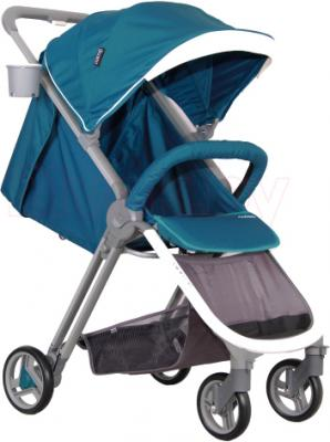 Детская прогулочная коляска Coletto Cosimo (Turquoise) - общий вид