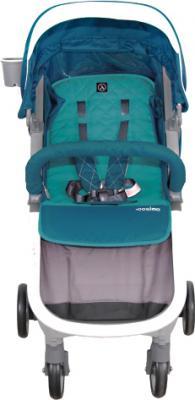 Детская прогулочная коляска Coletto Cosimo (Turquoise) - вид спереди