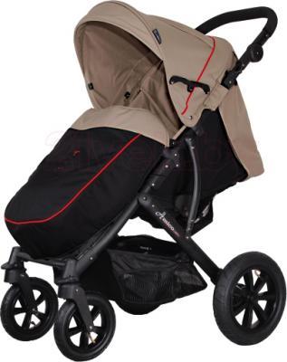 Детская прогулочная коляска Coletto Amico AW (Beige) - с чехлом для ног