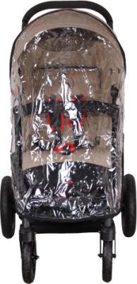 Детская прогулочная коляска Coletto Amico AW (Beige) - с дождевиком