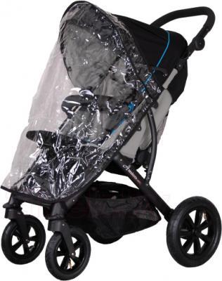 Детская прогулочная коляска Coletto Amico AW (Black) - с дождевиком