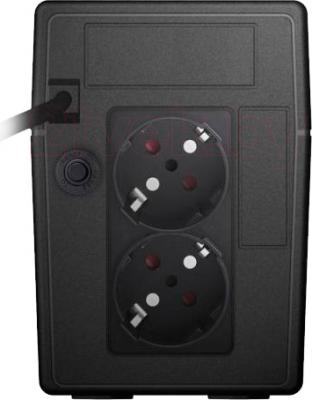 ИБП Powerex VI 650 LCD - вид сзади