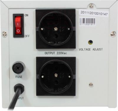 Стабилизатор напряжения VIVALDI ZTY-1KVA - вид сзади