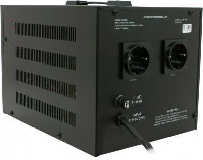 Стабилизатор напряжения VIVALDI Advance 3000 (AVR-3000VA) (LCD, Black) - вид сзади