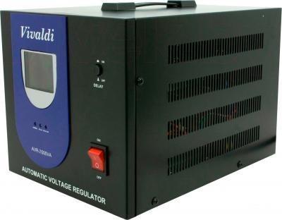 Стабилизатор напряжения VIVALDI Advance 2000 (AVR-2000VA) (LCD, Black) - общий вид