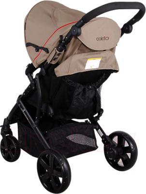 Детская прогулочная коляска Coletto Amico (Beige) - вид сзади