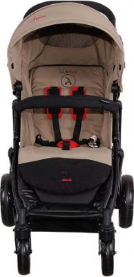 Детская прогулочная коляска Coletto Amico (Beige) - вид спереди