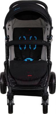 Детская прогулочная коляска Coletto Amico (Black) - вид спереди