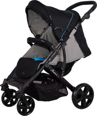 Детская прогулочная коляска Coletto Amico (Black) - общий вид