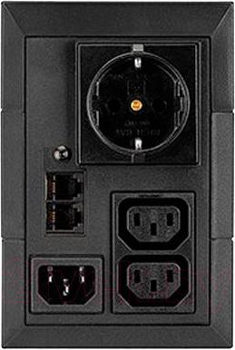 ИБП Eaton 5E DIN 650VA (5E650iDIN) - вид сзади