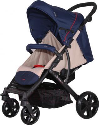 Детская прогулочная коляска Coletto Amico (Dark Blue) - общий вид