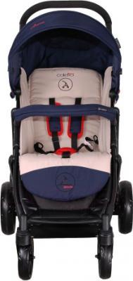 Детская прогулочная коляска Coletto Amico (Dark Blue) - вид спереди