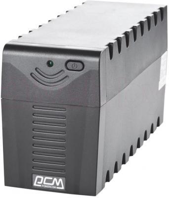 ИБП Powercom RPT-600AP (Black) - общий вид