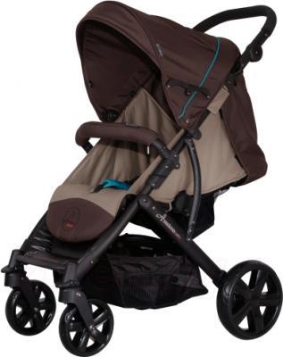 Детская прогулочная коляска Coletto Amico (Dark Brown) - общий вид