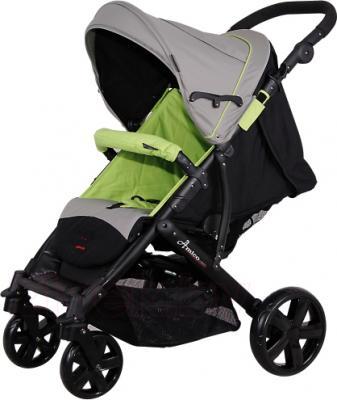 Детская прогулочная коляска Coletto Amico (Gray-Green) - общий вид